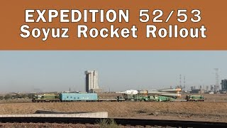 Expedition 52/53 Soyuz Mating And Rollout