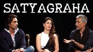 Gambar cover Satyagraha | Kareena Kapoor, Arjun Rampal & Prakash Jha talk about Corruption, Fear Of Law