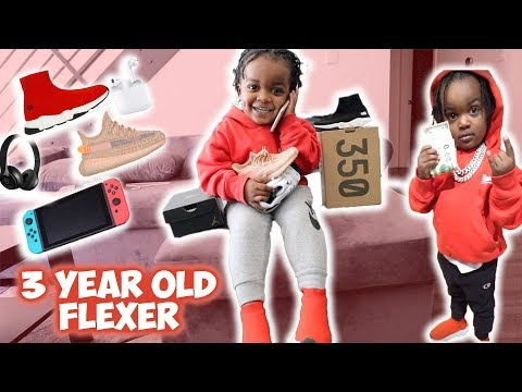 THE YOUNGEST FLEXER EVER !!! 3 YEAR OLD WOO WOP !!