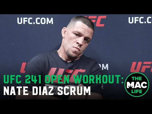 "Nate Diaz: ""I'm The Don of all this s***, anyone says otherwise... I beg to differ"""