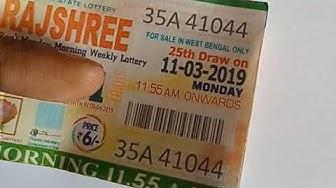Win 26 Lakh Rajshree Lottery | Lottery Winning Best Tricks | Win Goa State Lottery Powerful Tricks