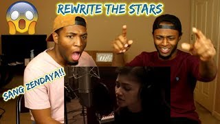 Video Zendaya - Rewrite The Stars (from The Greatest Showman) (Acoustic) (REACTION) download MP3, 3GP, MP4, WEBM, AVI, FLV April 2018