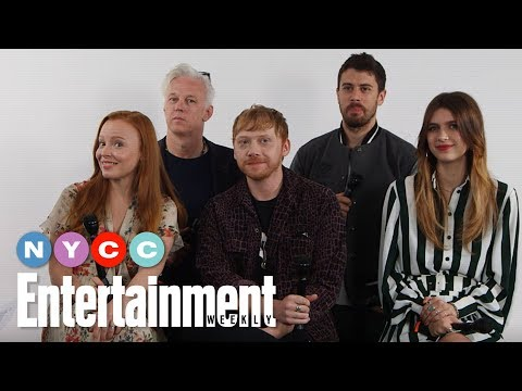 Servant's Rupert Grint, Lauren Ambrose & More On New Apple TV Show | #NYCC19 | Entertainment Weekly