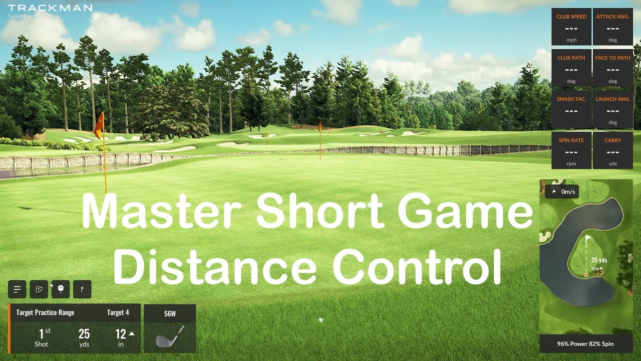 Master Wedge Distance Control on Trackman Range