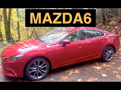 2016 Mazda Mazda6 Grand Touring – Review & Test Drive