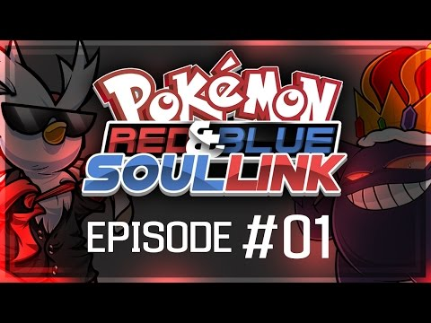 "Pokémon Red & Blue Soul Link Randomized Nuzlocke w/ ShadyPenguinn!! - Ep 1 ""THE HYPE IS REAL!"""
