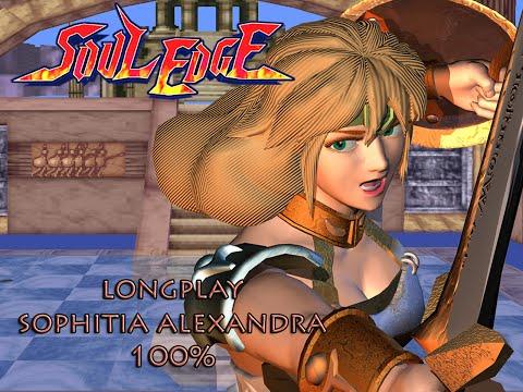 Soul Edge [PS1] - Edge Master Mode - Sophitia