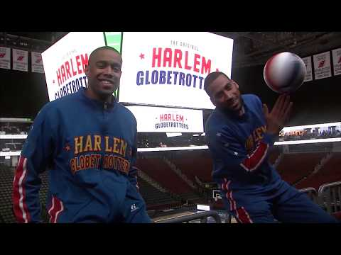 Newark Catwalk Shot | Harlem Globetrotters