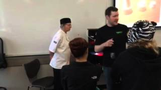 3D Printing Demo Pastry Class