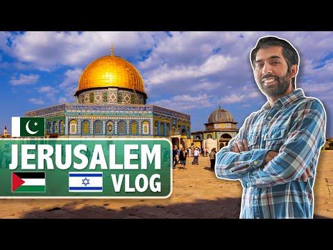 Pakistani Visiting Palestine And Israel | Jerusalem Vlog