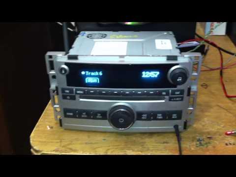 2007 to 2011 GMLAN Radios