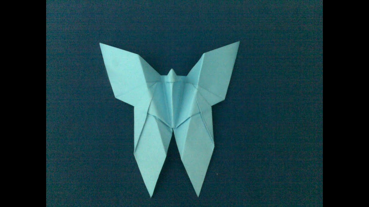 Origami Butterfly | How to Make an Origami Butterfly - YouTube - photo#50