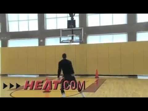 Mike Miller- Miami HEAT Workout