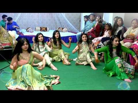 Bride and sisters' dance performance at Mehendi ~Amaneha wedding~
