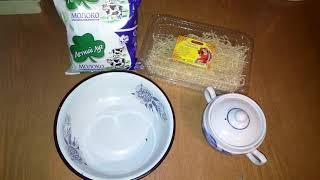 Молочный суп-лапша