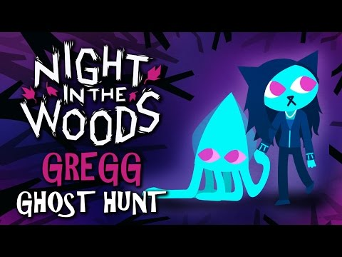 Night in the Woods - THE HAUNTED HISTORICAL SOCIETY ~Gregg's Ghost Hunt~ (Indie Adventure Game)