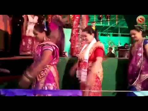 MLA Angoorlata Deka dances at Raax Mahotsav
