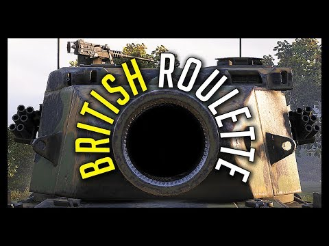 ► BRITISH ROULETTE feat. FV215b 183 - World of Tanks FV215b 183 Epic Gameplay