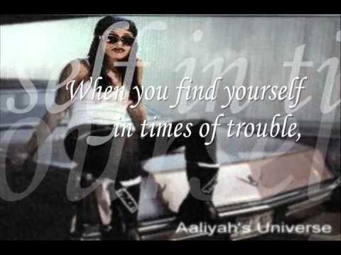 I Gotcha Back - Aaliyah (Lyrics ONSCREEN)