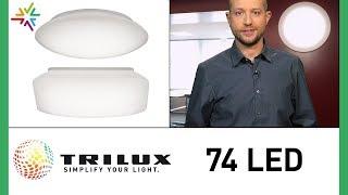 TRILUX 74Q 74R LED Anbauleuchte Vergleich und Produktvideo