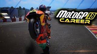 MotoGP 18 Career Mode Part 24 - STRUGGLE IS REAL! (MotoGP 2018 Game Career Mode Gameplay PS4 / PC)