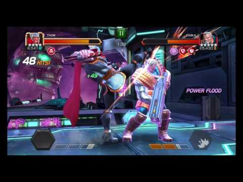 Cable Map 5 Day 4 Mini Boss Fight! W/Thor!