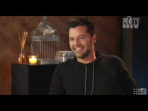 Beau Ryan interviews Ricky Martin