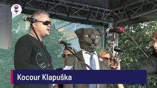 Demonstrace 5. 6. 2018 - Kocour Klapuška