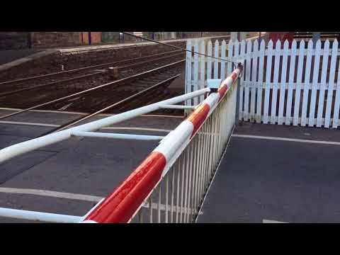 Barry Links Station Level Crossing (Angus) Friday 20.04.2018