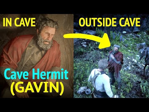 Cave Hermit Devil (Gavin) Exits Cave in Red Dead Redemption 2 (RDR2): Get Gavin Out of Cave thumbnail