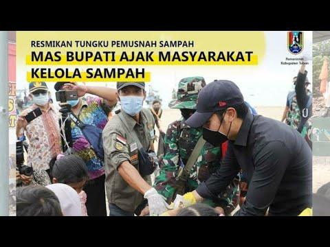 #BupatiTuban #ResmikanTungkuSampah #BersihPantai BUPATI TUBAN RESMIKAN TUNGKU PEMBAKAR SAMPAH