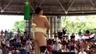 JPN VS EGY Sumo World Championships 2015