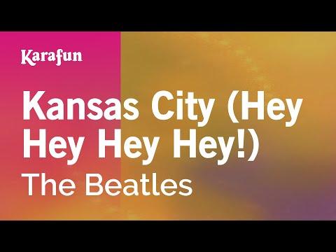 Karaoke Kansas City (Hey Hey Hey Hey!) - The Beatles *