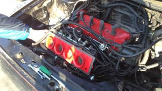 Golf2 на дросселях от Suzuki Hayabusa (Koxa-Motoring г. Кривой Рог)
