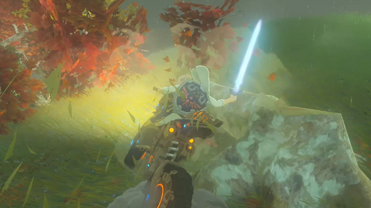 Best way to fuel up the master cycle zero zelda breath of the wild youtube - How do you get the master cycle zero ...