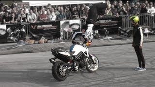 Chris Pfeiffer Stuntriding - BMW Motorrad Days 2013