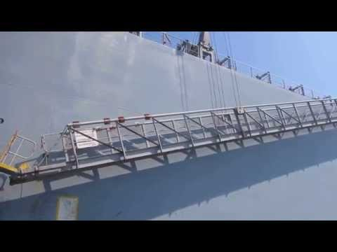 MT ISUZUGAWA - Very Large Crude Carrier (VLCC) Oil Tanker Boarding [HD]