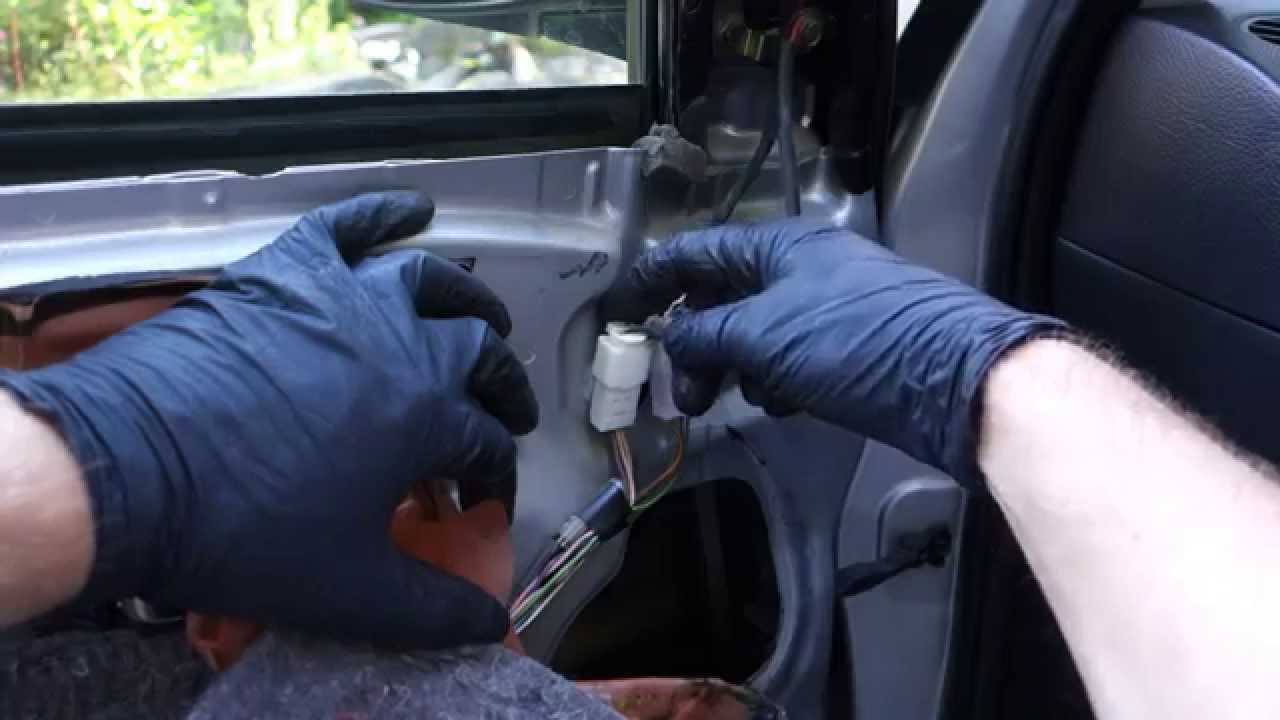 How To Replace Electric Side Mirror Toyota Corolla Years 2002 To