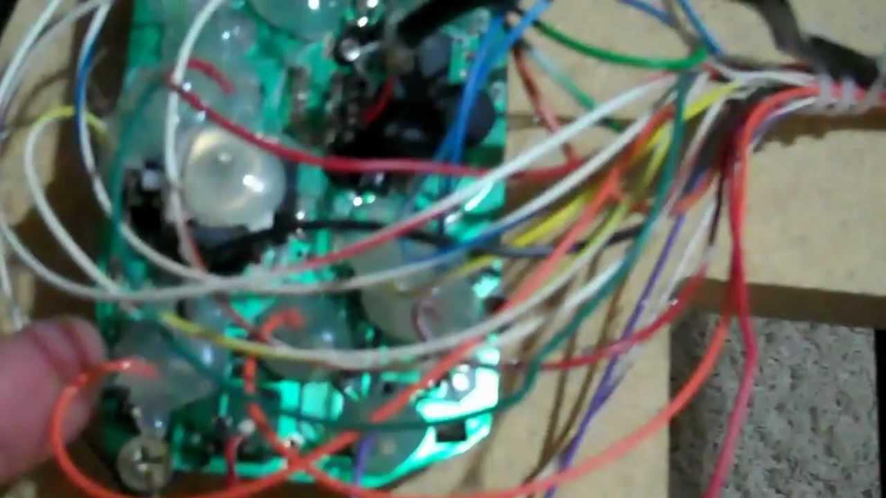 xBox 1- arcade cabinet- 2C1P - 2 Controllers in 1 Port- Piggy back ...