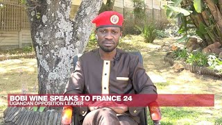 Ugandan opposition leader Bobi Wine: 'Museveni will end up in the dustbin of history' • FRANCE 24