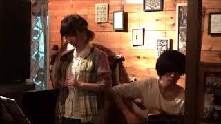 peipeiのギターRyoheiの店「night cafe FEEKA」でのライブです。