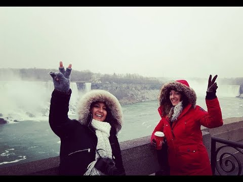 Niagara Falls Facebook LIVE - Hello! It's cold here. But beautiful.