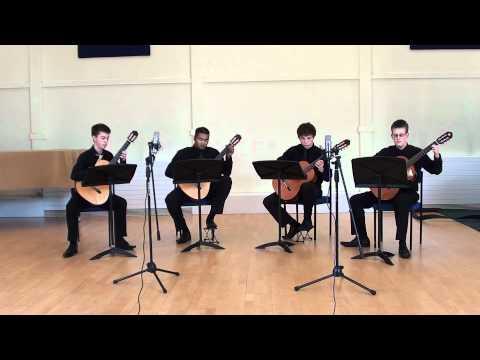 Scott Joplin The Ragtime Dance (guitar quartet)