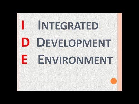 Integrated Development Environment - Quick Tutorial