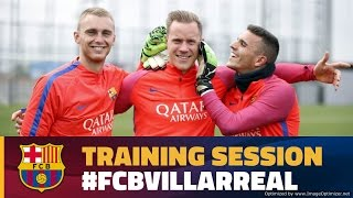 Recovery session after the derby