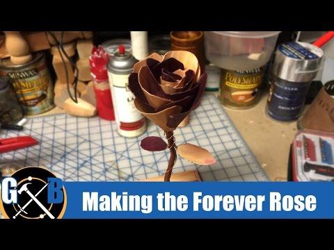 Make a Wood Veneer Rose  :: How To