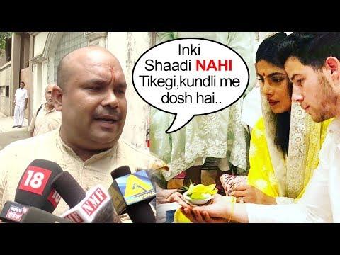 Priyanka Chopras Pundit Harivansh Rais SHOCKING Prediction Of Priyanka Chopra Nick Jonas MARRIAGE