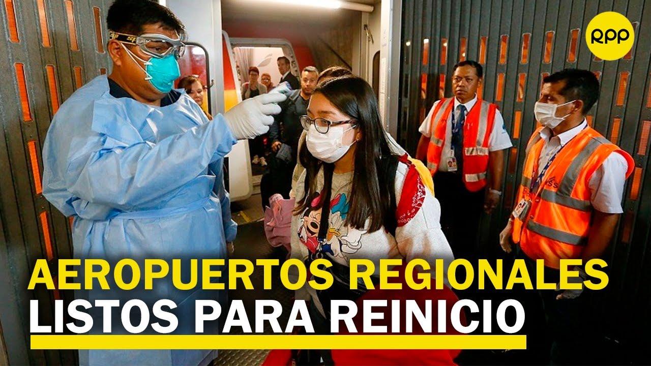 """Aeropuertos andinos: """"Estamos listos para operar desde hace un mes"""""""