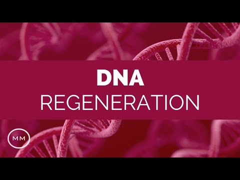 DNA Regeneration - 528 Hz - Repair DNA, RNA, Cellular Structure - Solfeggio Healing Music