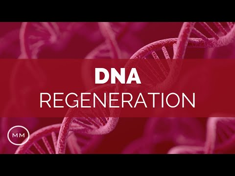 DNA Regeneration – Repair DNA, RNA, Cellular Structure – 528 Hz Binaural Beats